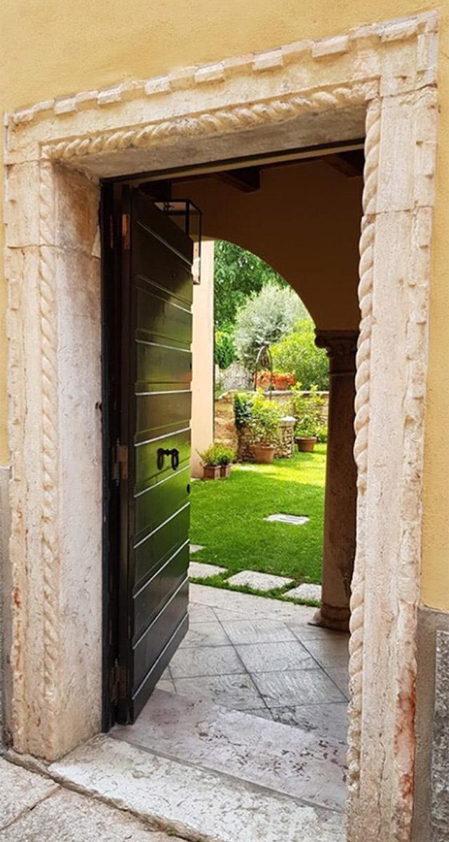 Giardini Aperti Verona 2020 - porta