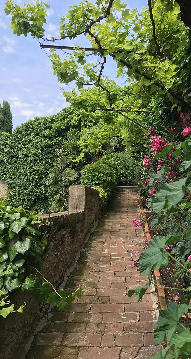 Giardini Aperti Verona 2020 - sentiero